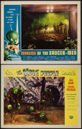 "Movie Posters:Science Fiction, The Mole People & Other Lot (Universal International, 1956).Lobby Cards (2) (11"" X 14""). Science Fiction.. ... (Total: 2 Items)"