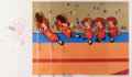 Animation Art:Production Cel, The Alvin Show Football Alvin Sequenced Production Cels andAnimation Drawing Group of 7 (Format Films/UPA, 1961)....