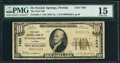National Bank Notes:Florida, De Funiak Springs, FL - $10 1929 Ty. 1 The First NB Ch. # 7404. ...