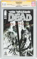 Modern Age (1980-Present):Horror, Walking Dead #1 Wizard World Columbus Sketch Edition - SketchEdition (Image, 2015) CGC NM/MT 9.8 White pages....
