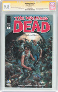 Modern Age (1980-Present):Horror, Walking Dead #1 Wizard World Minneapolis Edition - Signature Series(Image, 2015) CGC NM/MT 9.8 White pages....