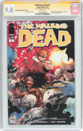Modern Age (1980-Present):Horror, Walking Dead #1 Wizard World Nashville Edition - Signature Series(Image, 2015) CGC NM/MT 9.8 White pages....