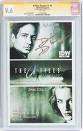 Modern Age (1980-Present):Science Fiction, The X-Files: Season 11 #1 Signature Series (IDW Publishing, 2015)CGC NM+ 9.6 White pages....