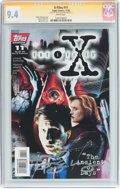 Modern Age (1980-Present):Science Fiction, The X-Files #11 Signature Series (Topps Comics, 1995) CGC NM 9.4 White pages....