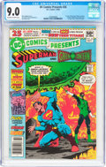 Modern Age (1980-Present):Superhero, DC Comics Presents #26 Superman and Green Lantern (DC, 1980) CGCVF/NM 9.0 Off-white to white pages....