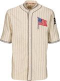 Baseball Collectibles:Uniforms, 1924 Walter Huntzinger Game Worn New York Giants World Tour FullUniform.. ...
