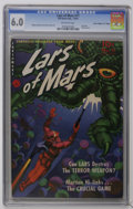 """Golden Age (1938-1955):Science Fiction, Lars of Mars #11 Davis Crippen (""""D"""" Copy) pedigree (Ziff-Davis,1951) CGC FN 6.0 Off-white pages. Last issue. Classic painte..."""