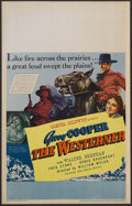 """Movie Posters:Western, The Westerner (United Artists, 1940). Window Card (14"""" X 22""""). Western. Starring Gary Cooper, Walter Brennan, Fred Stone, Do..."""