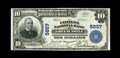 National Bank Notes:Pennsylvania, Greencastle, PA - $10 1902 Plain Back Fr. 633 The Citizens NB Ch. # 5857. Just two $10 Plain Backs are known from here. ...