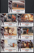 "Movie Posters:Action, Hellfighters (Universal, 1969). Lobby Cards (7) (11"" X 14""). ActionAdventure. Starring John Wayne, Vera Miles, Katharine Ro... (Total:7 Item)"