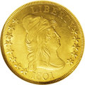 Early Eagles: , 1801 $10 MS64 NGC. Breen 1-A, Breen-6843, Taraszka-24, Bass-3193, BD-1, R.5. Specialists in the series of early eagles will...
