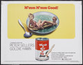 "Movie Posters:Comedy, There's a Girl in My Soup (Columbia, 1971). Half Sheet (22"" X 28"").Comedy. Starring Peter Sellers, Goldie Hawn, Tony Britto..."