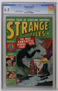 Golden Age (1938-1955):Horror, Strange Tales #3 (Marvel, 1951) CGC FN+ 6.5 Off-white to whitepages. The scarcity of this pre-hero book is underlined by th...