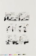"""Original Comic Art:Miscellaneous, Dave Berg - Mad """"Lighter Side"""" Production Stat and Film Positive,Group of 7 (EC, undated). This lot features five photostat...(Total: 10 Items)"""