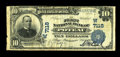 National Bank Notes:Oklahoma, Poteau, OK - $10 1902 Plain Back Fr. 626 The First NB Ch. # (W)7118. The census from this very rare community stands at ...