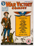 Golden Age (1938-1955):Miscellaneous, War Victory Adventures #1 (Harvey, 1942) Condition: VG+....