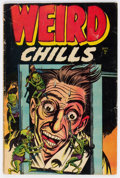 Golden Age (1938-1955):Horror, Weird Chills #2 (Key Publications, 1954) Condition: VG....