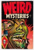 Golden Age (1938-1955):Horror, Weird Mysteries #10 (Gillmor, 1954) Condition: GD/VG....