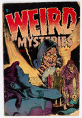 Golden Age (1938-1955):Horror, Weird Mysteries #1 (Gillmor, 1952) Condition: GD/VG....
