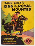 Platinum Age (1897-1937):Miscellaneous, Feature Books #1 King of the Royal Mounted (David McKayPublications, 1937) Condition: Apparent VG....