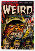 Golden Age (1938-1955):Horror, Weird Tales of the Future #7 (Aragon, 1953) Condition: VG....