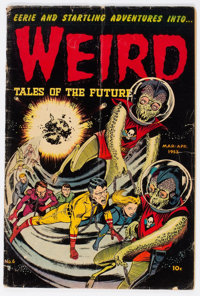 Weird Tales of the Future #6 (Aragon, 1953) Condition: Apparent GD