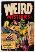 Golden Age (1938-1955):Horror, Weird Mysteries #11 (Gillmor, 1954) Condition: GD/VG....