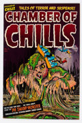 Golden Age (1938-1955):Horror, Chamber of Chills #12 (Harvey, 1952) Condition: VF+....