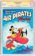 Bronze Age (1970-1979):Alternative/Underground, Air Pirates Funnies #1 Signature Series (Hell Comics Group, 1971) CGC NM- 9.2 Off-white to white pages....