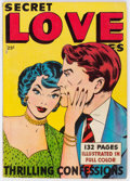Golden Age (1938-1955):Romance, Fox Giants Secret Love Stories (Fox Features Syndicate, 1949)Condition: VG+....