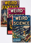 Golden Age (1938-1955):Science Fiction, Weird Science/Weird Fantasy Group of 4 (EC, 1952) Condition:Apparent GD/VG.... (Total: 4 Comic Books)