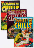 Golden Age (1938-1955):Horror, Chamber of Chills Group of 5 (Harvey, 1952-53) Condition: AverageGD/VG.... (Total: 5 Comic Books)