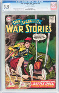 Silver Age (1956-1969):War, Star Spangled War Stories #84 (DC, 1959) CGC VG- 3.5 Off-white to white pages....