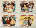 "Movie Posters:Sports, The Caddy (Paramount, 1953). Lobby Cards (4) (11"" X 14""). Sports.. ... (Total: 4 Items)"