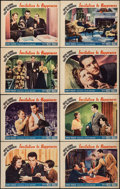 """Movie Posters:Romance, Invitation to Happiness (Paramount, 1939). Lobby Card Set of 8 (11"""" X 14""""). Romance.. ... (Total: 8 Items)"""