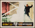 "Movie Posters:James Bond, Goldfinger (United Artists, 1964). Lobby Card (11"" X 14""). James Bond.. ..."