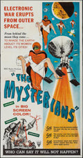 "Movie Posters:Science Fiction, The Mysterians (RKO, 1959). Three Sheet (41"" X 79""). ScienceFiction.. ..."