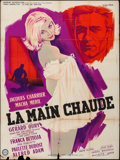 """Movie Posters:Foreign, The Itchy Palm (Gaumont, 1960). French Grande (46.75"""" X 63"""") Style A. Foreign.. ..."""