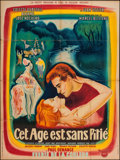 "Movie Posters:Foreign, This Age without Pity (Codif, 1952). French Grande (47"" X 63""). Foreign.. ..."