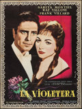 """Movie Posters:Foreign, La Violetera (CIP, 1958). French Grande (46"""" X 61""""). Foreign.. ..."""
