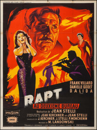"Operation Abduction (La Société des Films Sirius, 1958). French Grande (47"" X 63""). Foreign"