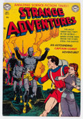 Golden Age (1938-1955):Science Fiction, Strange Adventures #13 (DC, 1951) Condition: Apparent FN/VF....