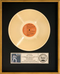 Music Memorabilia:Awards, Elvis: As Recorded at Madison Square Garden RIAA Gold RecordAward (RCA)....