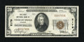 National Bank Notes:Colorado, Colorado Springs, CO - $20 1929 Ty. 1 The First NB Ch. # 2179. ...