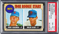 Baseball Cards:Singles (1960-1969), 1968 Topps Mets Rookie Stars #177 PSA NM-MT+ 8.5....