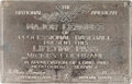 Baseball Collectibles:Others, 1940's Mickey Cochrane Major Leagues Lifetime Pass. ...