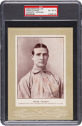 Baseball Cards:Singles (Pre-1930), 1902-11 W600 Sporting Life Frank Chance (Uniform) PSA EX-MT 6 - The Only PSA Graded Example! ...