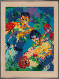 """Boxing Collectibles:Autographs, 1974 Muhammad Ali Signed """"Rumble in the Jungle"""" LeRoy Neiman Print Inscribed to Angelo Dundee...."""