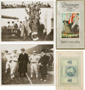 Baseball Collectibles:Others, 1924 Baseball World Tour Ephemera Lot....