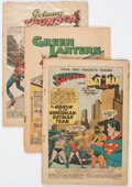 Golden Age (1938-1955):Miscellaneous, Golden to Silver Age Miscellaneous Coverless/Incomplete Comics Short Box Group (Various Publishers, 1950s-60s) Condition: Cove...